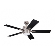 Amhurst Fan Brushed Steel