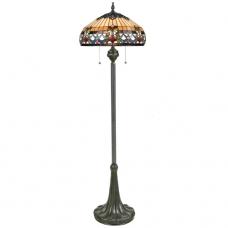 Belle Fleur Tiffany Floor Lamp