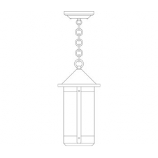 Berkeley Long Body Pendant Seven Inch