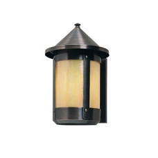 Berkeley Wall Sconce w Roof Eight Inch