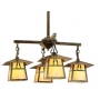Carmel Four Light Chandelier Eight Inch