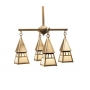 Dartmouth Four Light Chandelier Four Inch