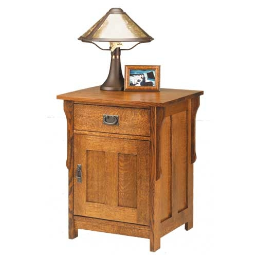 - Antique Mission Bedside Table