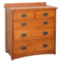 American Mission Five Drawer Bureau