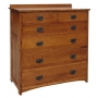 American Mission Six Drawer Bureau