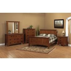 Crofter Mission Five-Piece Bedroom Suite