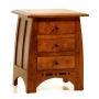 Vineyard Three Drawer Nightstand #524