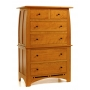 Vineyard Six Drawer Tall Chest