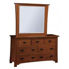 Crofter Mission Seven-Drawer Dresser