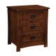 Montana Mission Three-Drawer Night Stand