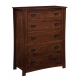 Montana Mission Five-Drawer Chest