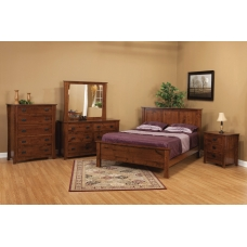 Clearly Amish Montana Mission Bedroom Collection