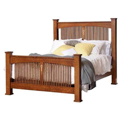 Craftsman post bed for Craftsman bed