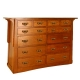 Aurora Twelve Drawer Mule Chest