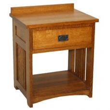 American Mission Bedside Table