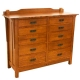 San Marino Ten Drawer Dresser