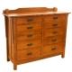 San Marino Ten Drawer Dresser
