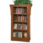 Arts and Crafts Deluxe Single Bookcase