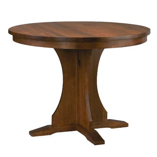 Dining Table Round Dining Table Mission