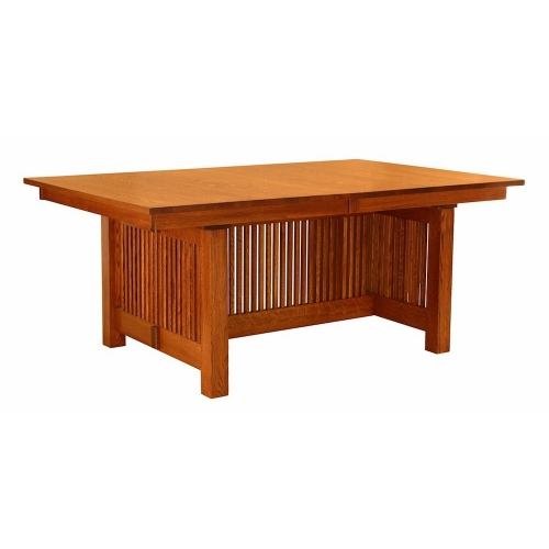 American Mission Trestle Dining Table