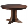 Sierra Mission Pedestal Table Thirty Six Inch