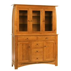 Vineyard Three Door Hutch and Buffet