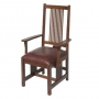 American Mission High Back Arm Chair