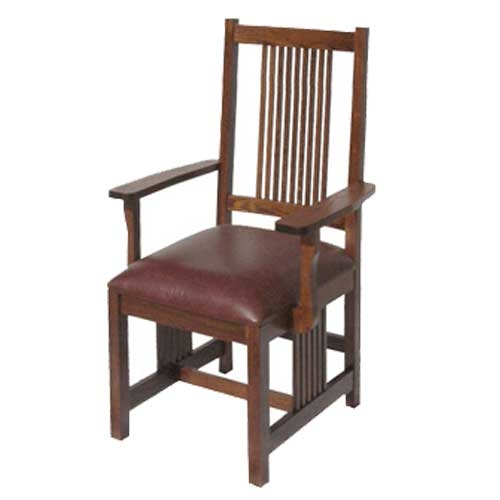 American Mission Low Back Arm Chair : amwlac2flowbackmissionarmchair 500x500 from missionbungalow.com size 500 x 500 jpeg 46kB