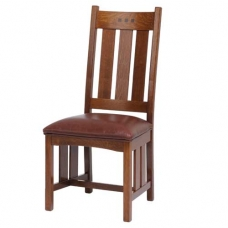 San Marino Slat High Back Side Chair