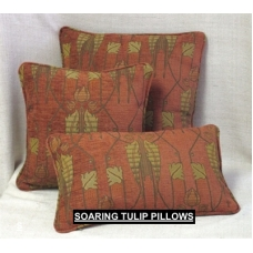 Soaring Tulip Sienna Pillows