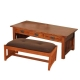American Mission Ottoman Coffee Table
