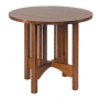 American Mission Round Lamp Table