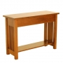 American Mission Console Table