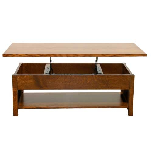 san marino lift top coffee table