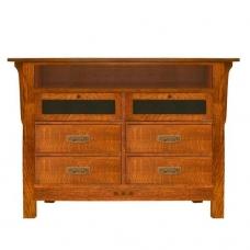 San Marino Media Cabinet #4690