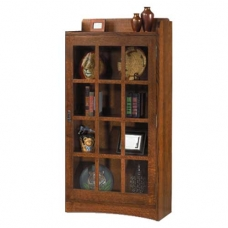 Mission Revival Bookcase