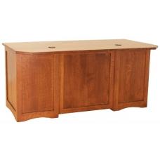 Clearly Amish Newbury Panel Desk