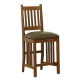 Slat Back Mission Bar Stool