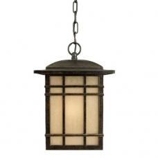 Hillcrest Green Hanging Lantern