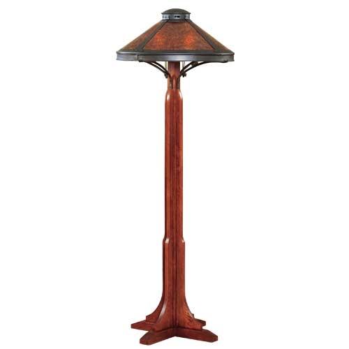Mica lamp co bungalow floor lamp aloadofball Gallery