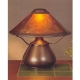 Mica Lamp Company Bean Pot Lamp