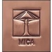 Mica Lamp Co. Open Top Wall Fixture