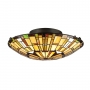 Reed Semi Flush Fixture