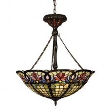 Hyacinth Tiffany Inverted Fixture