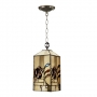 Mission Rose Hanging Lantern