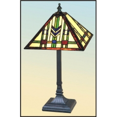 Mission Chevron Accent Lamp