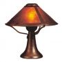 Mica Lamp Co Trumpet Lamp Small