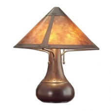 Mica Lamp Company Onion Lamp Large