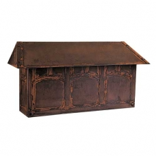 Arroyo Craftsman Evergreen Mail Box Bronze