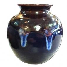 Mission Revival Fluted Vase
